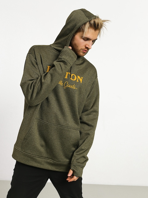 Burton Oak HD Hoodie (keef heather)