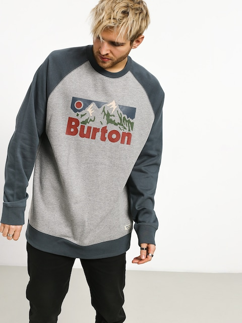 Burton Vista Crew Sweatshirt (gray heather)
