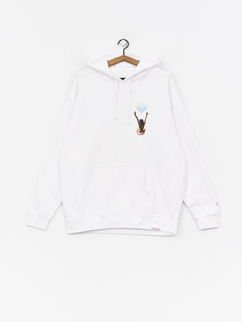 Diamond Supply Co. Fishing For Compliments HD Hoodie (white)