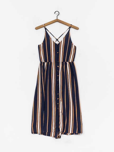 Roxy Sunset Beauty Dress Wmn (dress blue macy stripe)