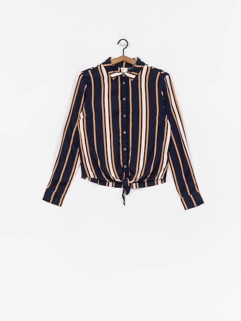 Roxy Suburb Vibes Shirt Wmn (dress blue macy stripe)