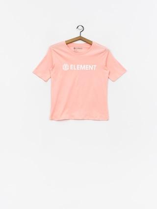Element Logo Cr T-shirt Wmn (peach)