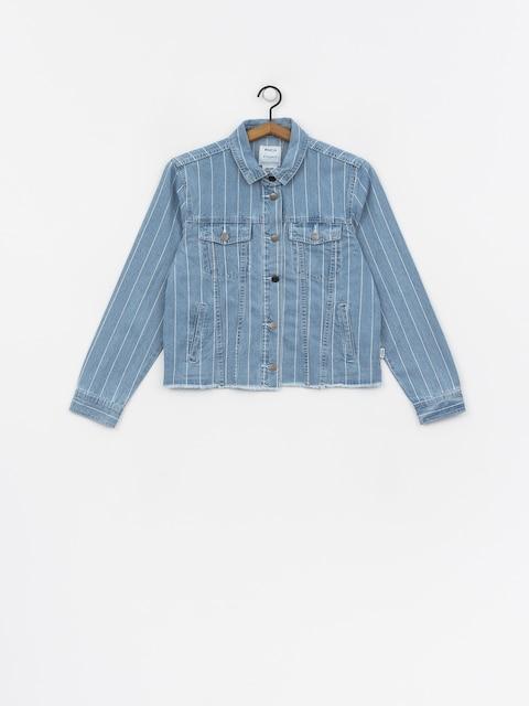 RVCA Pause It Jacket Wmn (washed stripe)