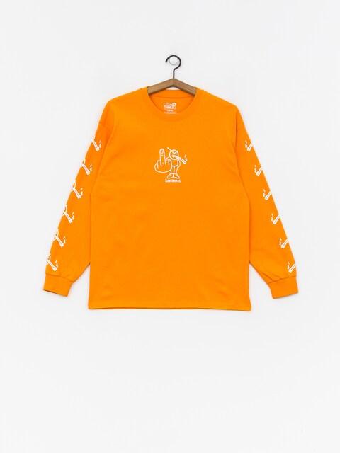 Polar Skate Angry Stoner Longsleeve (bright orange)