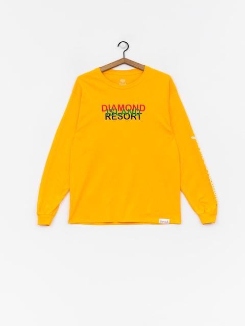Diamond Supply Co. Diamond Resort Longsleeve (gold)