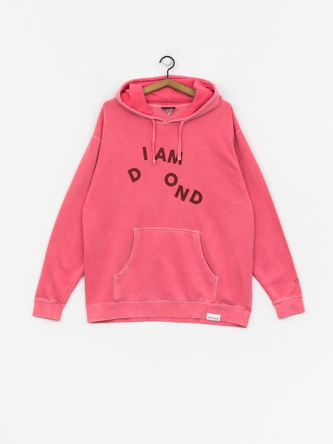 Diamond Supply Co. I Am HD Hoodie (pink)