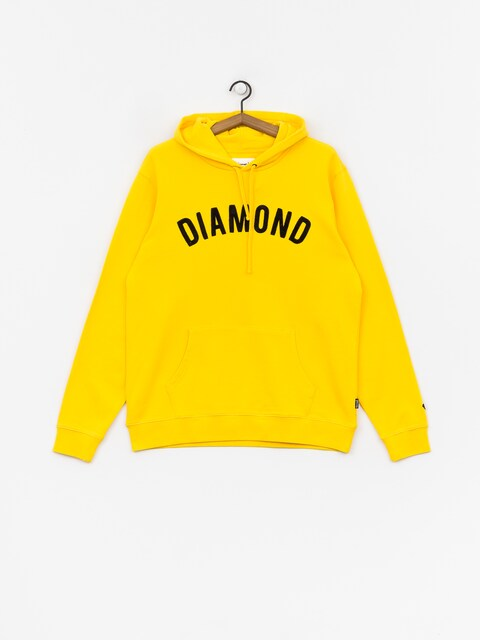 Diamond Supply Co. Diamond Arch HD Hoodie (yellow)
