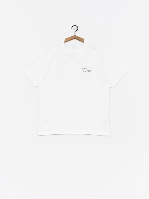 Polar Skate 69 Fill Logo T-shirt (white)