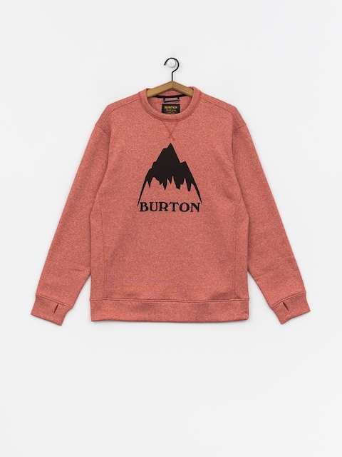Burton Oak Crew Sweatshirt (tandori heather)