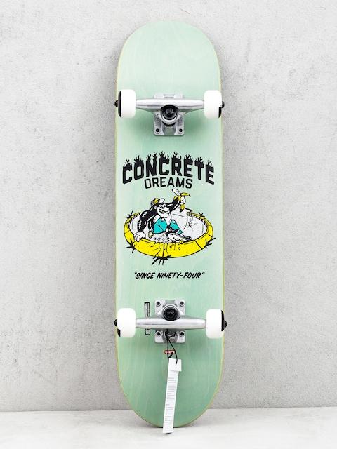 Globe Concrete Dreams Mid Skateboard (breeze green)