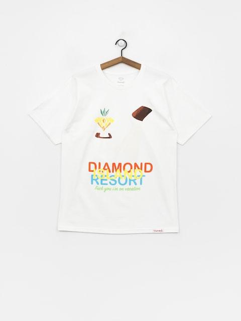 Diamond Supply Co. Diamond Resort T-shirt (white)