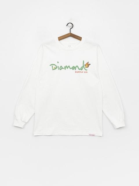 Diamond Supply Co. Paradise Og Script Longsleeve (white)