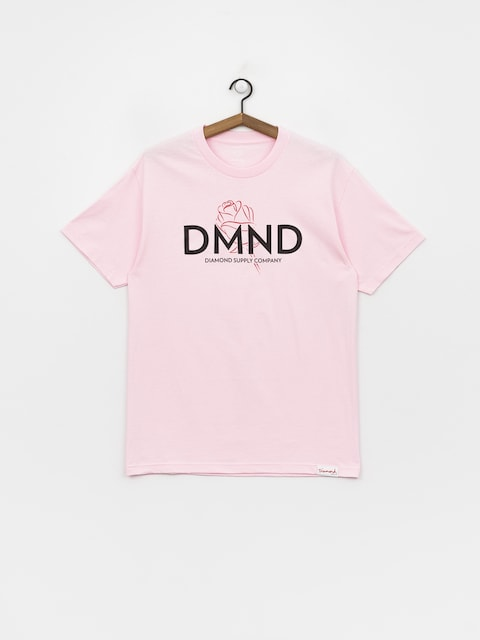 Diamond Supply Co. Dmnd Amour T-shirt (pink)