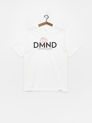 Diamond Supply Co. Dmnd Amour T-shirt (white)
