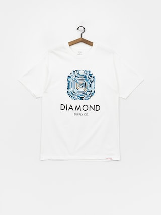 Diamond Supply Co. Asscher Cut T-shirt (white)