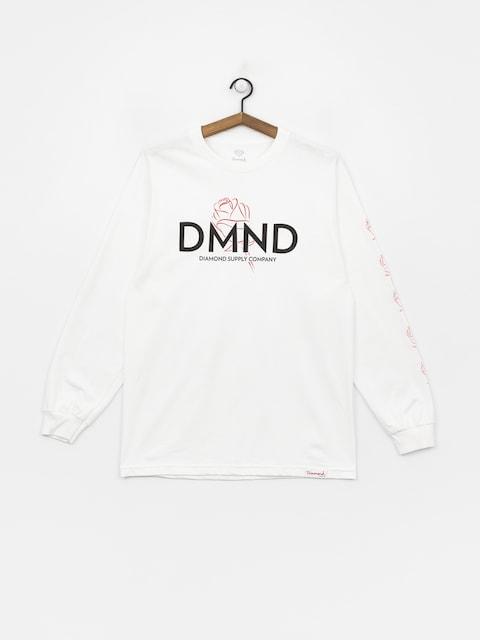 Diamond Supply Co. Dmnd Amour Longsleeve (white)