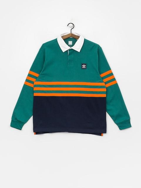 adidas Winchellpolo Polo t-shirt (actgrn/conavy/orange)