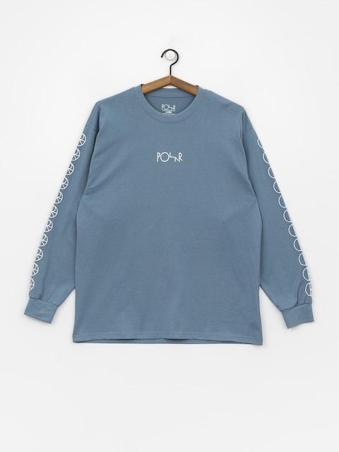 Polar Skate Racing Longsleeve (grey blue)