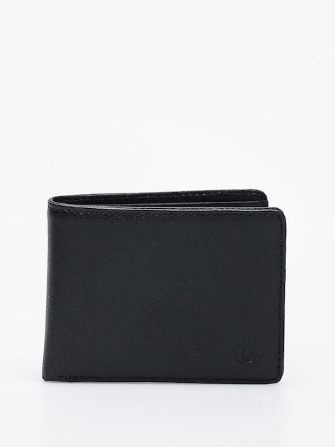 Volcom Strangler Lth Wallet (blk)