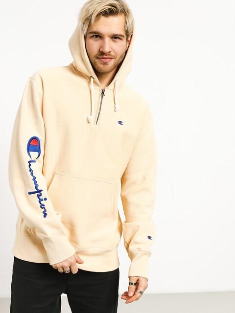 Champion Premium Reverse Weave Hooded Half Zip Sweatshirt ZHD Hoodie (wet)