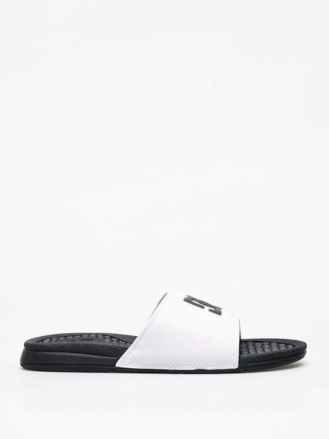 DC Bolsa Flip-flops (white/black)