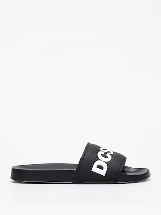 DC Slide Flip-flops (black/white)