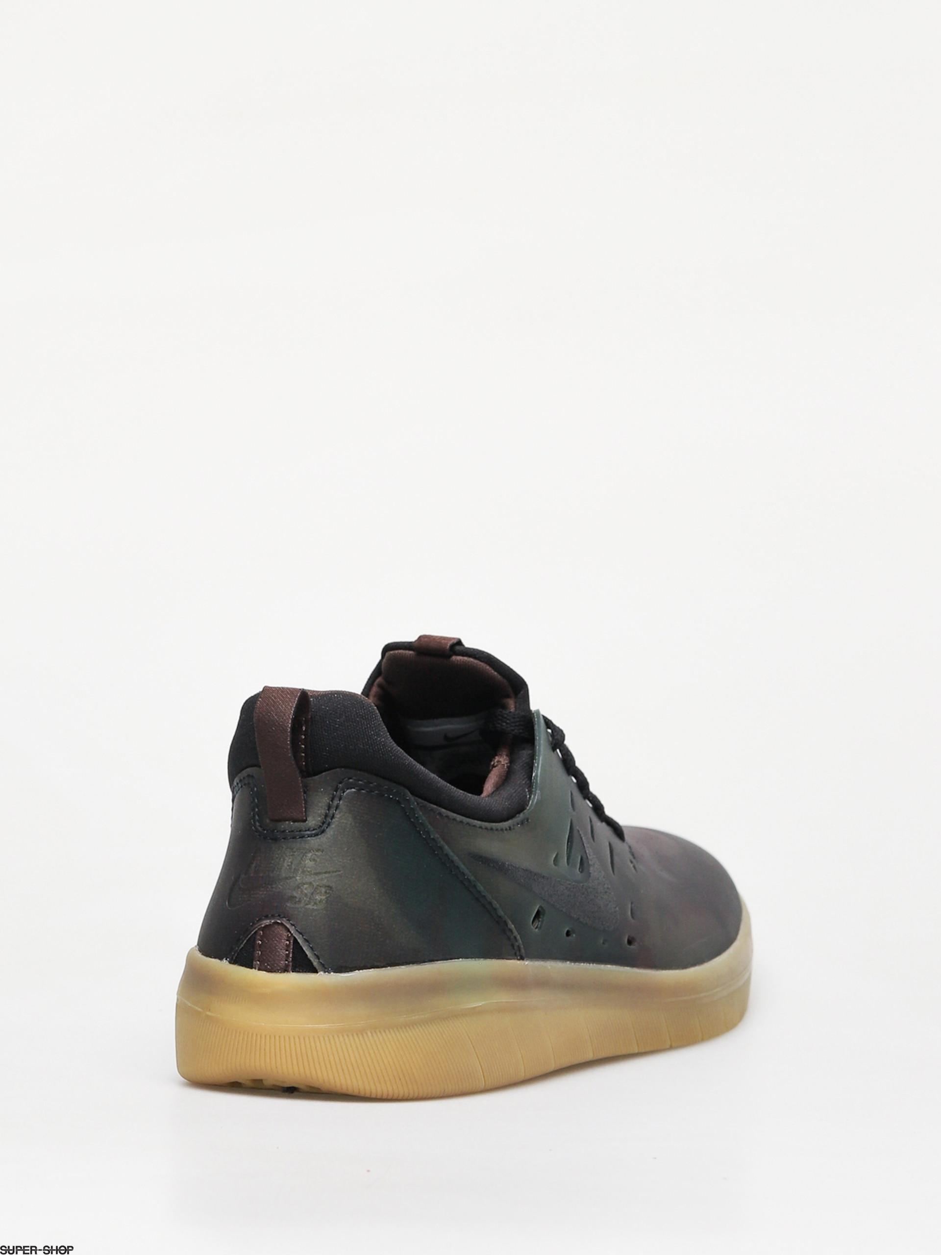 03be5c089a07 Nike SB Sb Nyjah Free Prm Shoes (multi color black gum light brown)