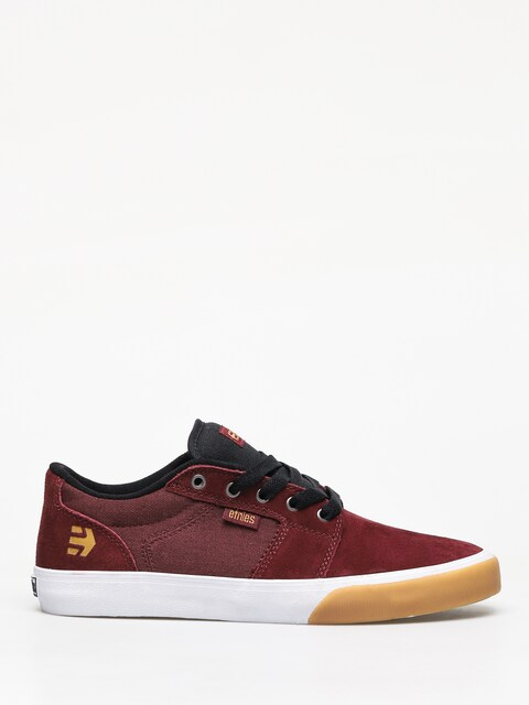 Etnies Barge Ls Shoes (burgundy/tan/white)