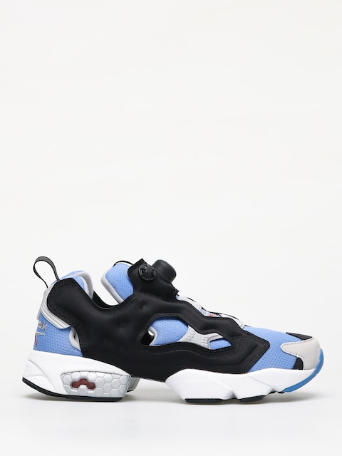 Reebok Instapump Fury Og Echo Shoes (blue/black/stee)