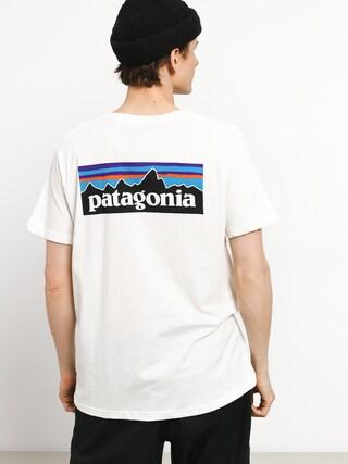 Patagonia Logo Organic T-shirt (white)