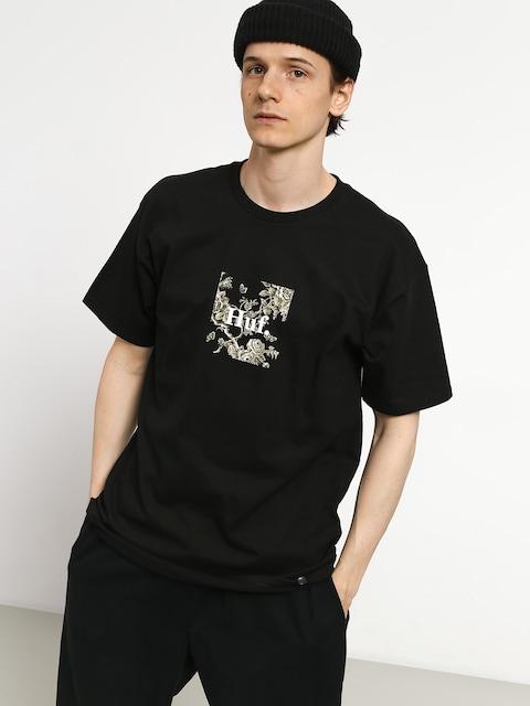 HUF Highline Box Logo T-shirt (black)