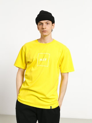 HUF Essentials Box Logo T-shirt (aurora yellow)