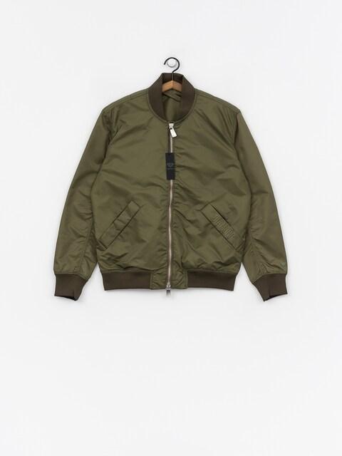 Diamond Supply Co. Panelled Bomber Jacket (olive)