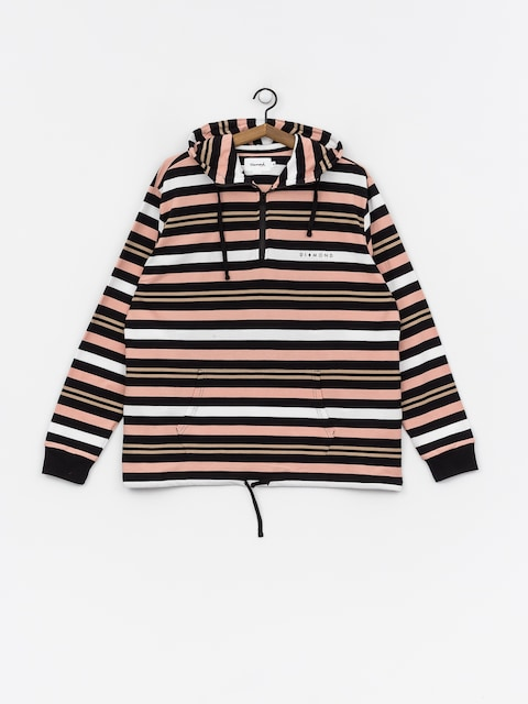 Diamond Supply Co. Marquise Striped ZHD Hoodie (black)