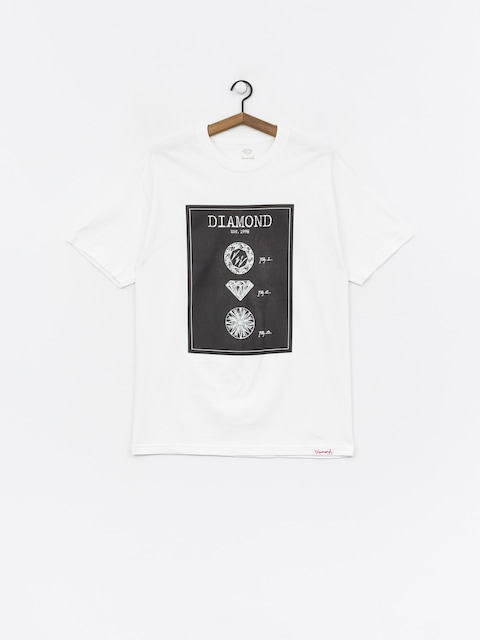 Diamond Supply Co. Draft T-shirt (white)