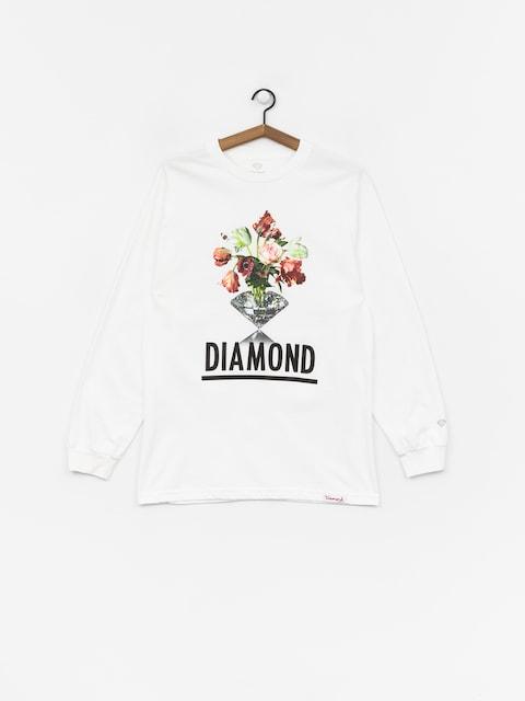 Diamond Supply Co. Pollination Longsleeve (white)