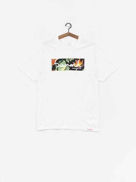 Diamond Supply Co. Paradise Box Logo T-shirt (white)