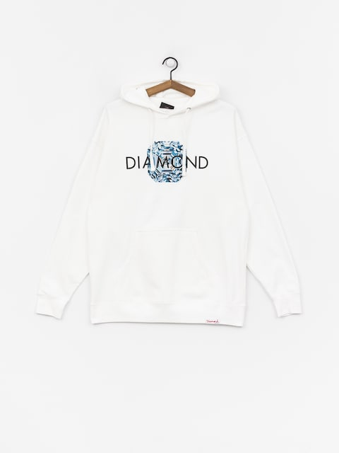 Diamond Supply Co. Asscher Cut Sweatshirt (white)