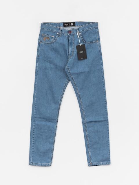 Elade Selvedge Pants (light blue denim)
