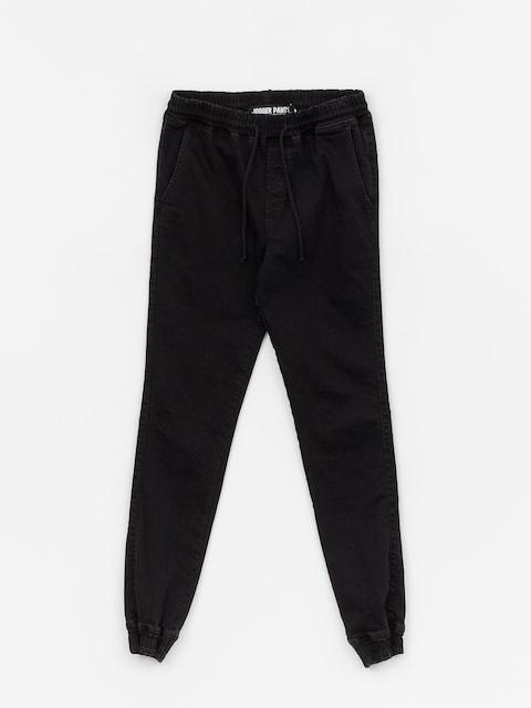 Diamante Wear Rm Jeans Jogger Pants (black jeans)
