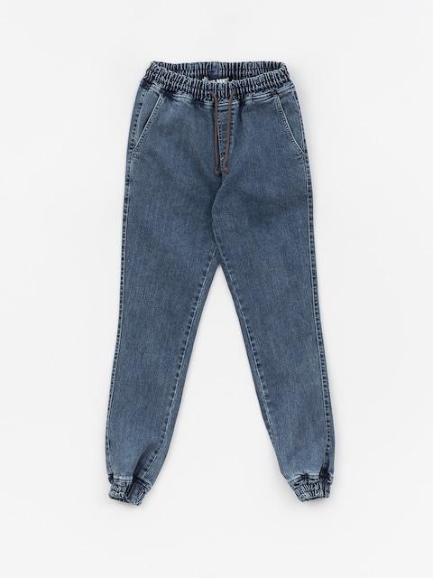 Diamante Wear Rm Jeans Jogger Pants (blue)