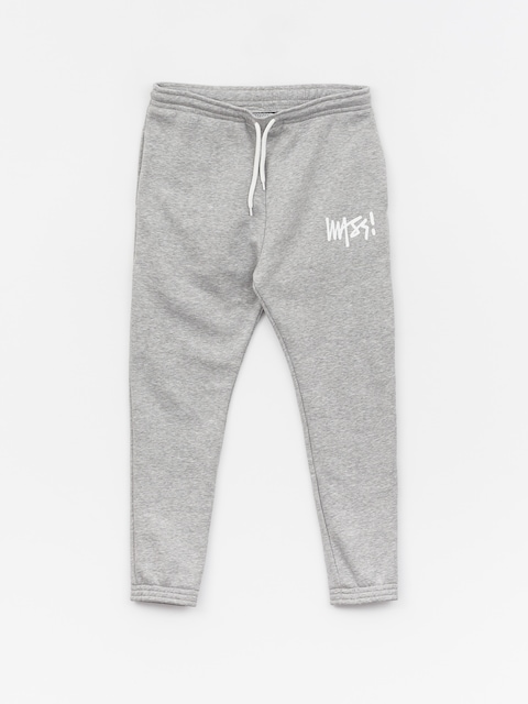 MassDnm Signature Trap Fit Pants (light heather grey)