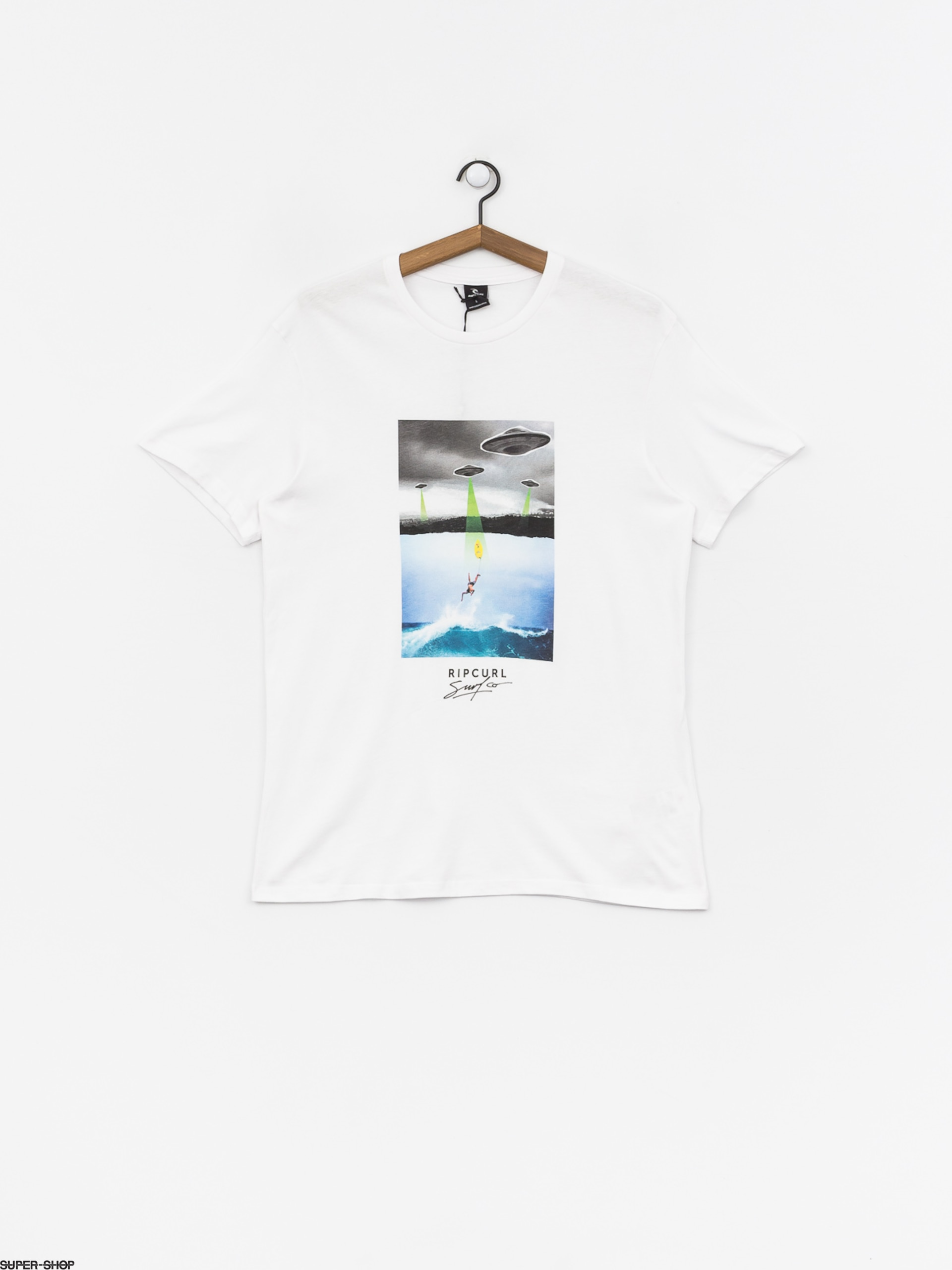 Rip Curl T-Shirt ~ Good Day Bad Day white