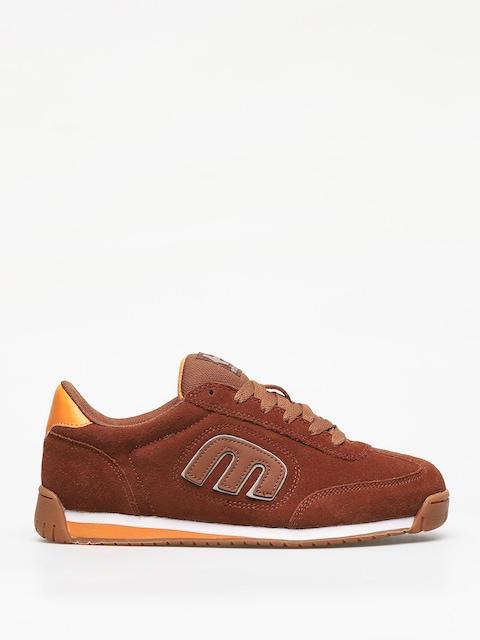 Etnies Lo Cut II Ls Shoes (brown/orange)