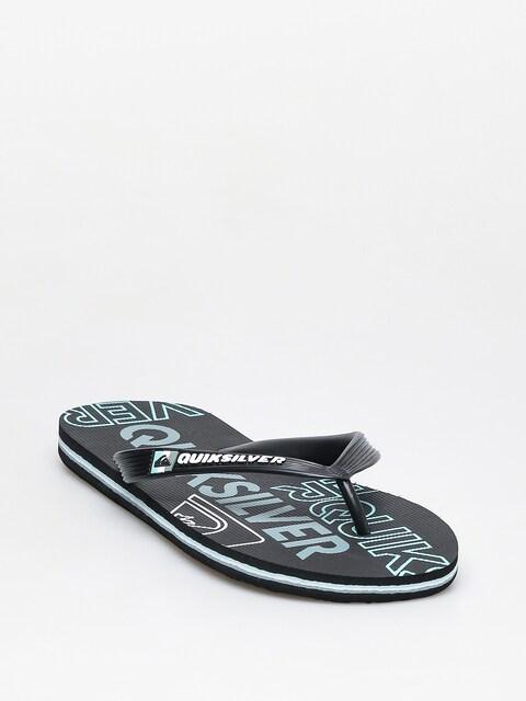 Quiksilver Molokai Nitro Flip-flops (black/blue/black)