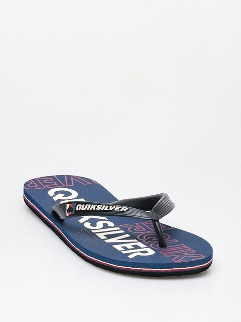 Quiksilver Molokai Nitro Flip-flops (black/blue/red)