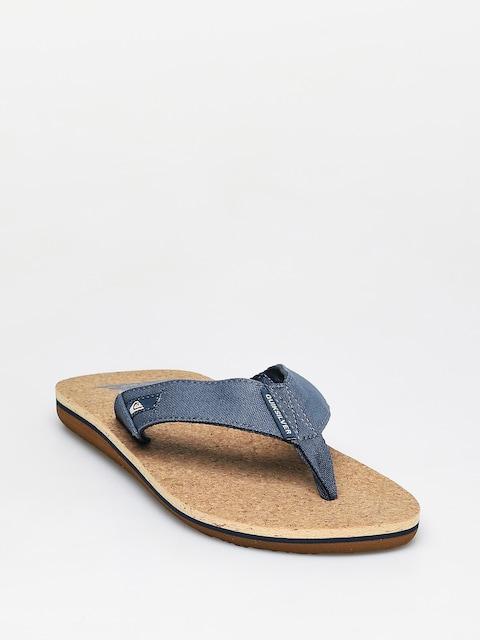 Quiksilver Molokai Abyss Cork Flip-flops (blue/brown/blue)