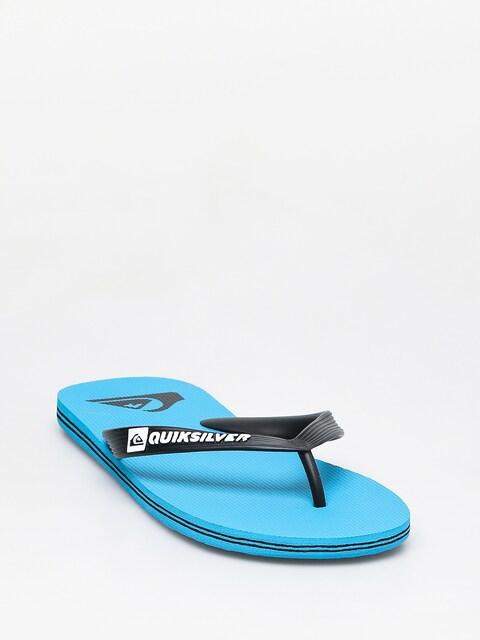 Quiksilver Molokai Flip-flops (blue/black/blue)