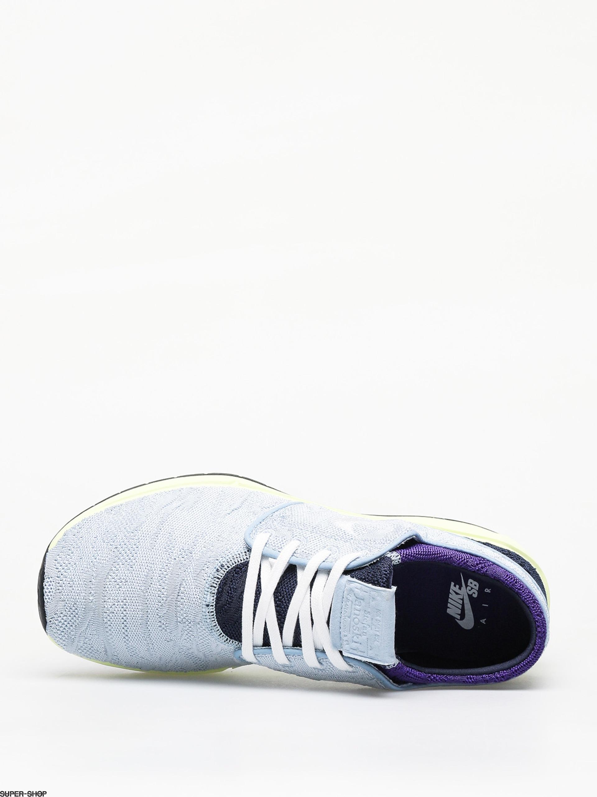Nike SB Air Max Janoski 2 Skate Shoes Lt Armory BlueWhite Midnight