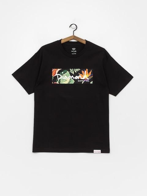 Diamond Supply Co. Paradise Box Logo T-shirt (black)